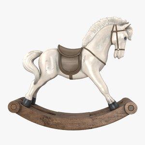 horse toy 3D model