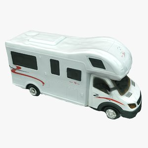 scan toy camper 3D model