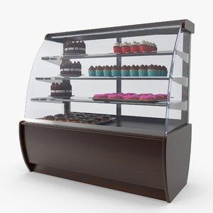 showcase display 3D model