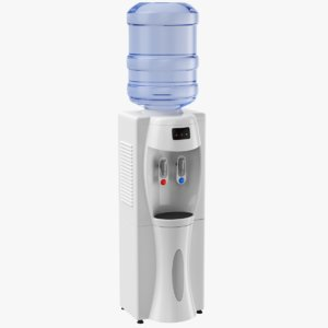 water cooler 3D