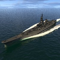 3D battle ship dynamic simulation