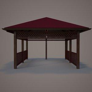 terrace wood 05 model