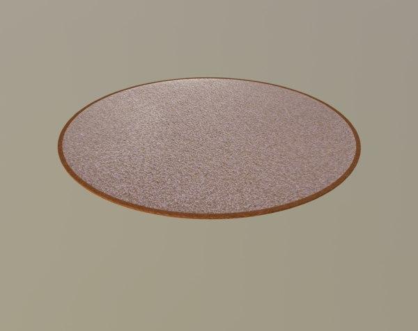3D brown carpet
