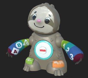 toy sloth model
