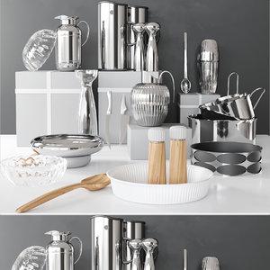 3D blender cutlery