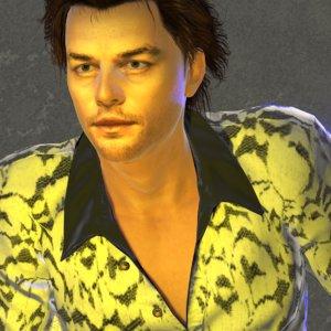 brian man human male 3D model