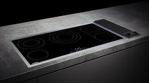 3D gaggenau cooktop 200 ce291111