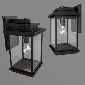 3D model artcraft lighting freemont black