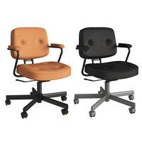 3D model office chair ikea alefjll