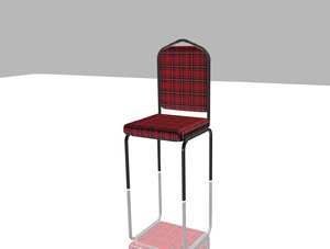 3D party chair model