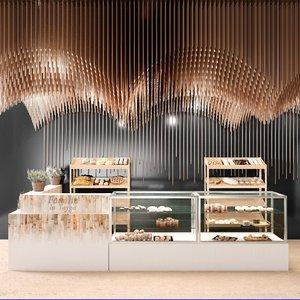 bars coffee 3D