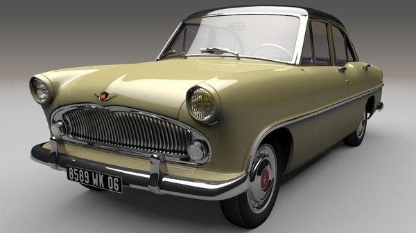versailles 1956 simca model