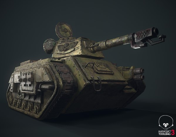 fanart tank low-poly 3D