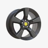 3D dark gray oz rim