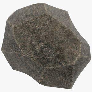 stone stylized 3D model