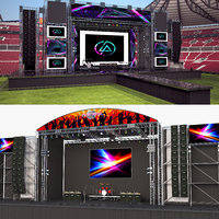 3D model concert stages 2