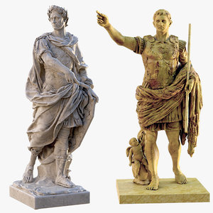 emperor caesar augustus prima 3D model