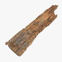 Rotten Plank Short Disintegrated