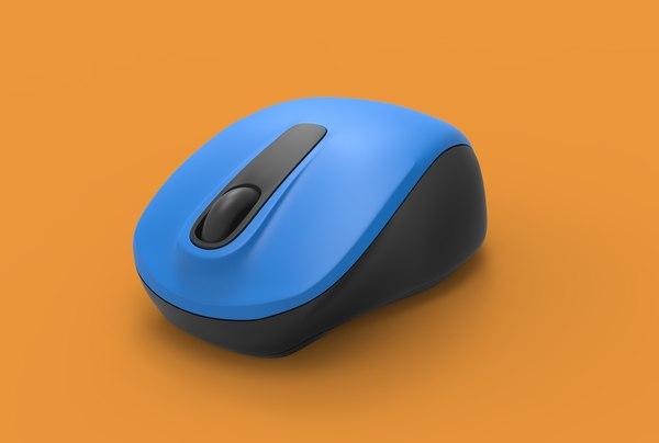 3D computer mouse model