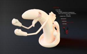 printable submarine 3D