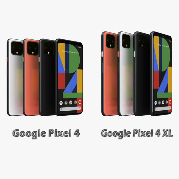 3D google pixel 4 xl model