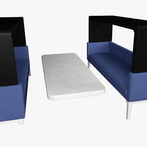 office modern 3D model