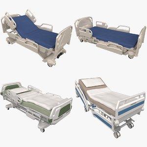 3D hospital beds