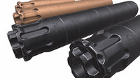 Rugged Obsidian 9mm Suppressor