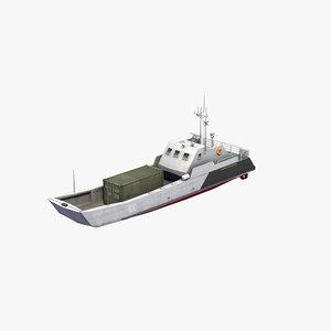 3D serna class landing craft