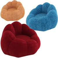 3D pouffe footstool seating model