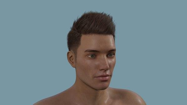 3D male body