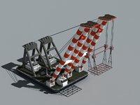 Floating crane 01