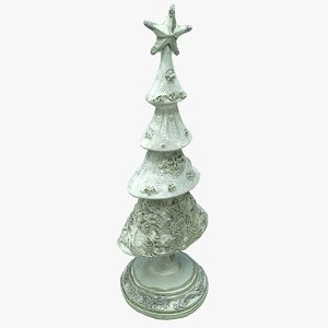 christmas tree figurine model