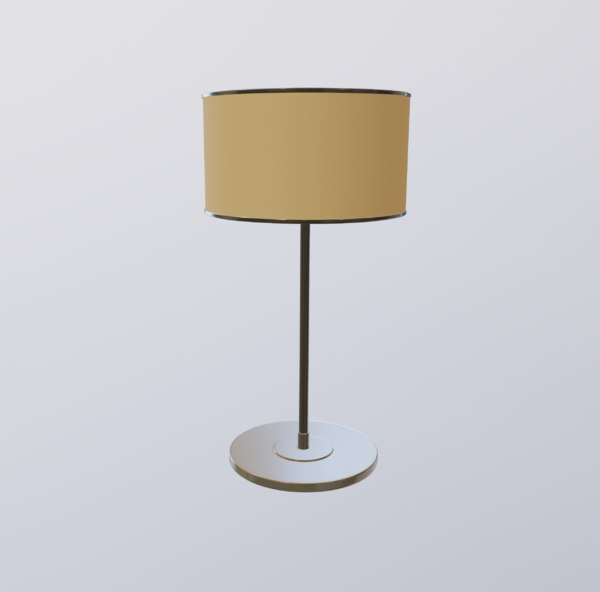 lamp table 3D