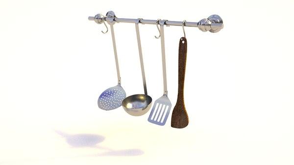 3D cutlery model