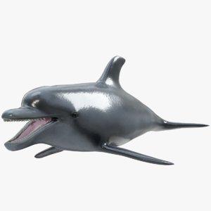3D dolphin ready pbr