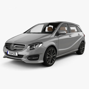 mercedes mercedes-benz b-class 3D model