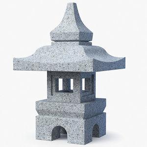 stone lantern max