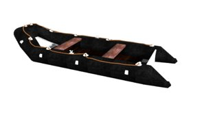 3D zodiac boat raft