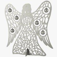 3D model christmas angel statue