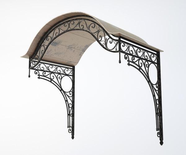 canopy iron 3D