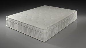 3D model mattress bed