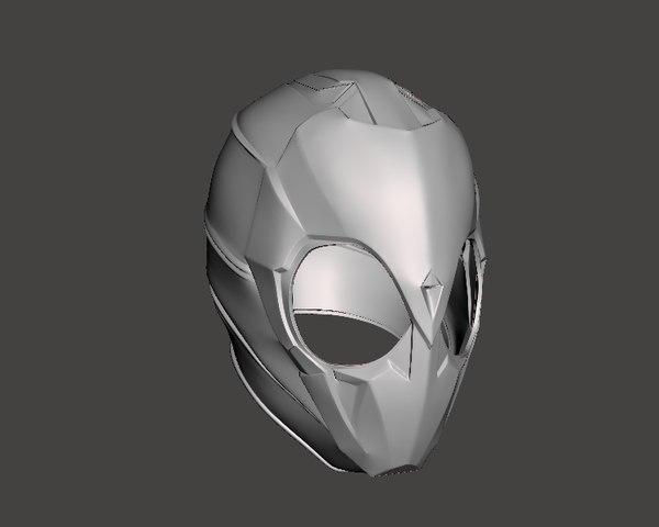 3D kamen rider zero helmet model