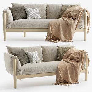 3D tapio sofa
