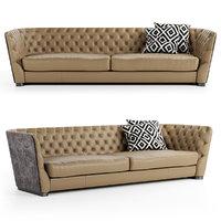 sofa samuel ulivi 3D model