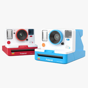 3D model polaroid onestep