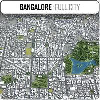 bangalore surrounding - 3D model