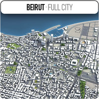 Beirut - city and surroundings