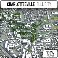 3D charlottesville surrounding -