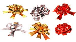 gift bows 3D model